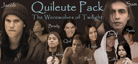 Quileute Pack - The Werewolves of Twilight